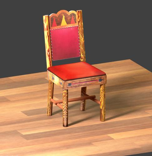 A 3d model I made with Blender